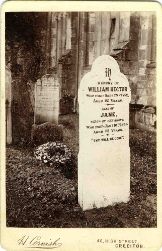hector william and jane grave