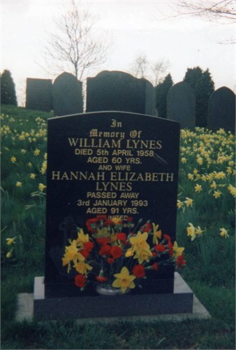 william and hannah lynes grave
