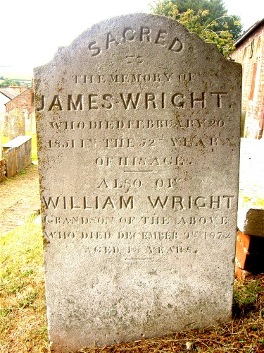 james wright 1799 and grandson