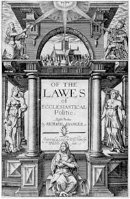 Titlepage Laws of eccesiatical polity