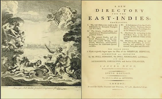New Directory East Indies title page