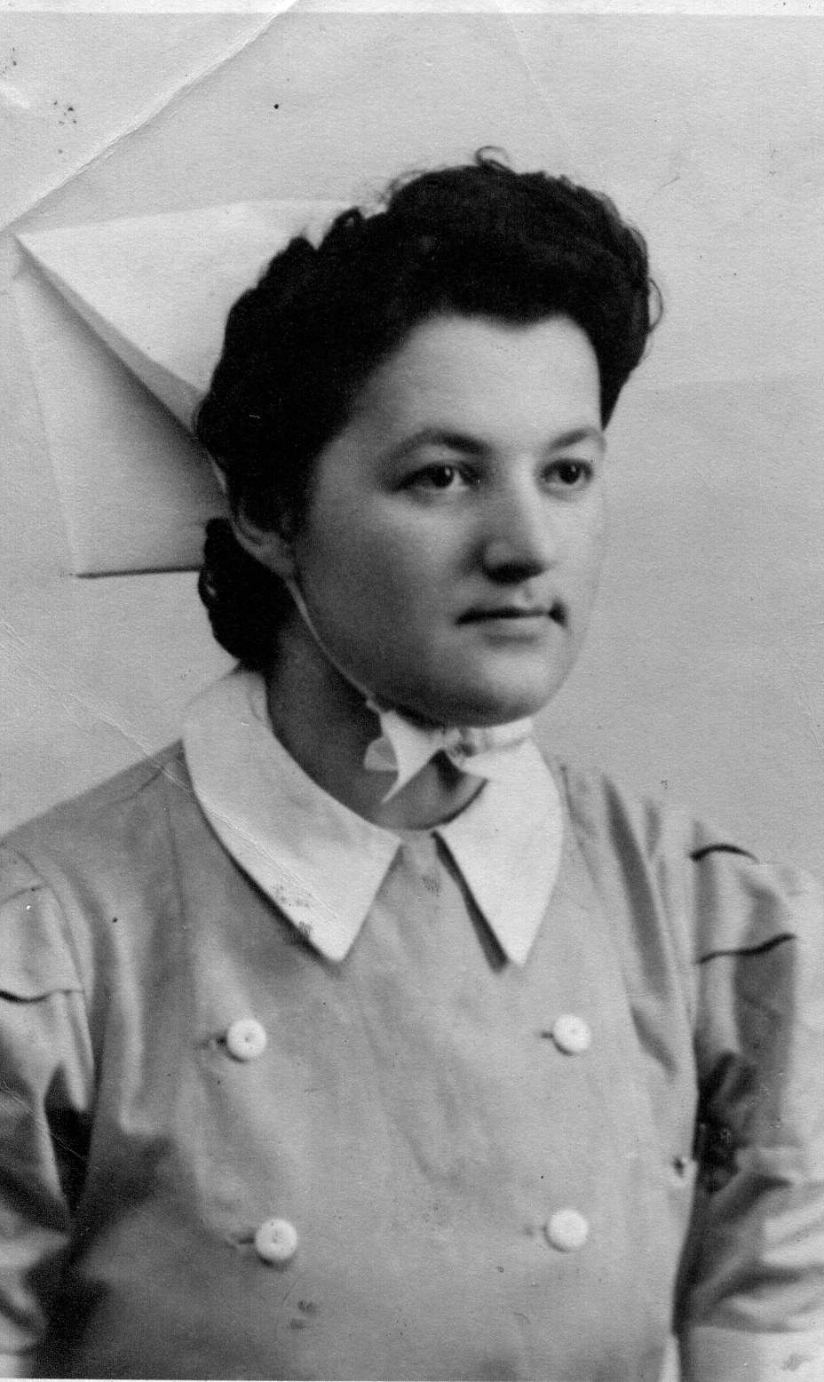 Nurse Peggy Wright