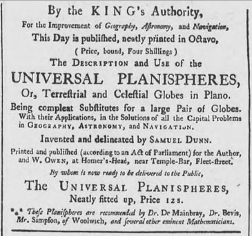 Oxford journal advert for Dunn book