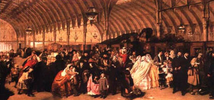 Frith's painting of Paddington