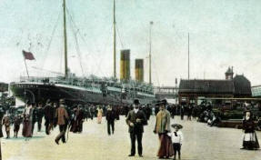 Teutonic ship at Liverpool