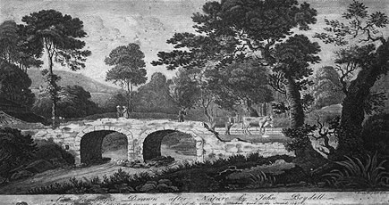 Boydell bridge engraving