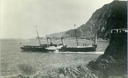 Pockett paddle ferry