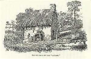 Sketch of cottage