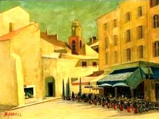 Painting of St Tropez